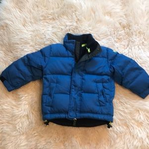 Gap down jacket